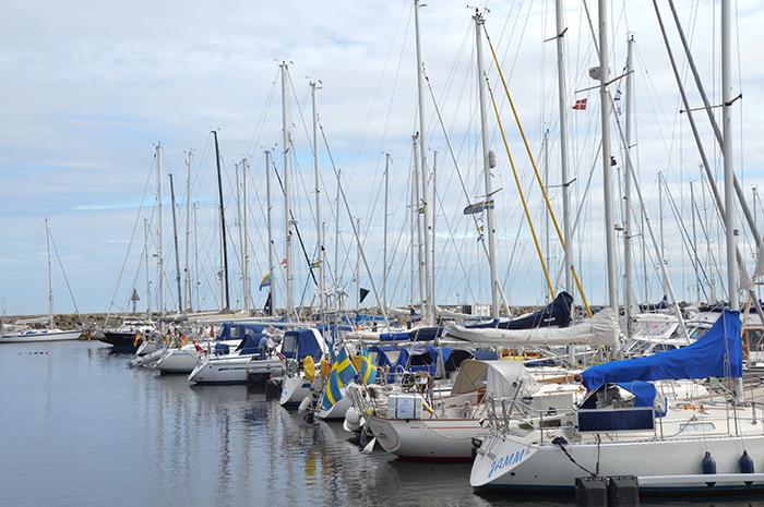 Roadtrip Ystad harbour