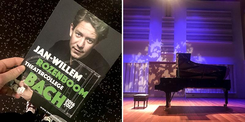 Dingen die ik deed in maart: Concert Jan-Willem Rozenboom