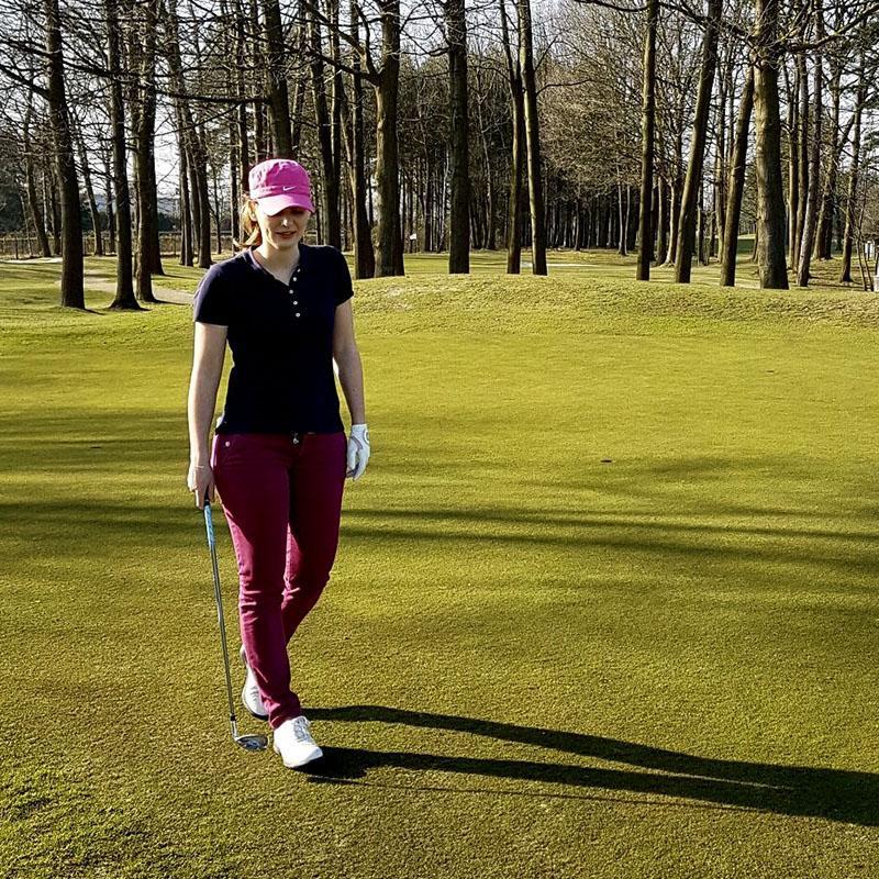 Dingen die ik deed in maart: golfen