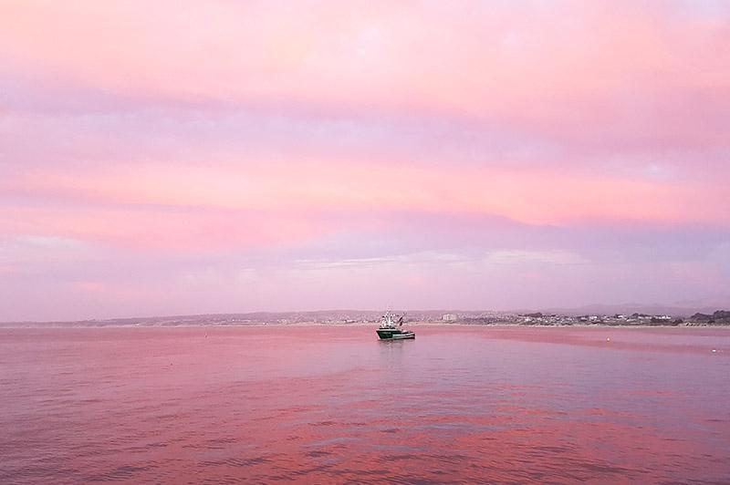 Roadtrip door West-Amerika - Monterey Sunset