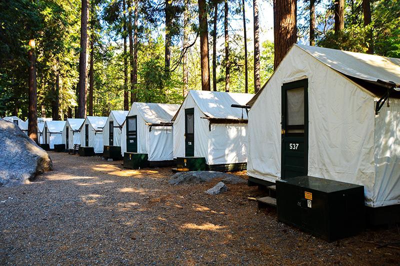 Yosemite National Park - Half dome village tents