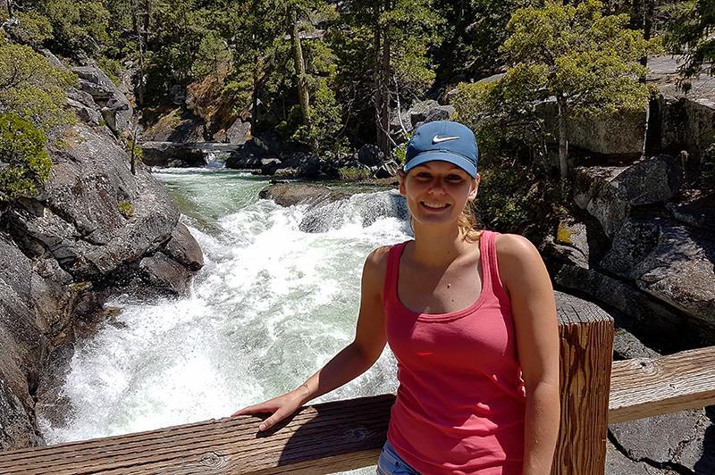 Yosemite National Park Merced river