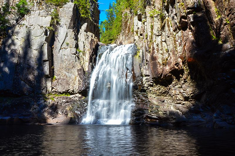 Trollfoss Noorwegen