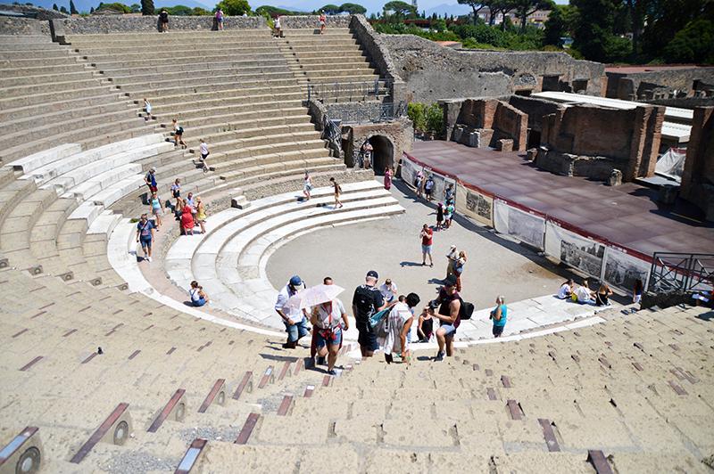 Pompeï - het grote theater