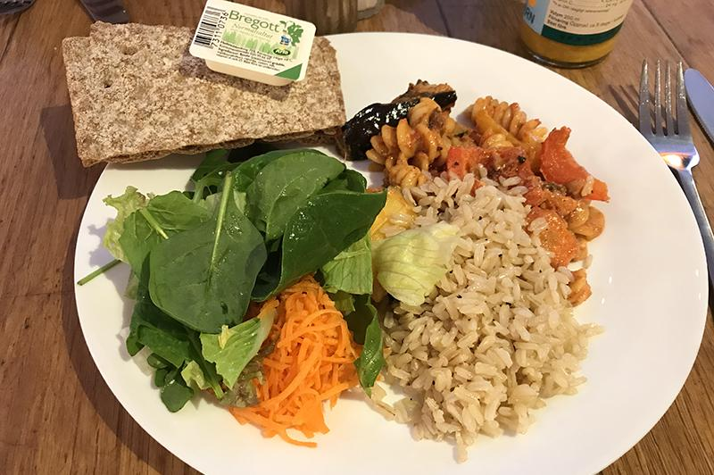 Hermitage Stockholm - food