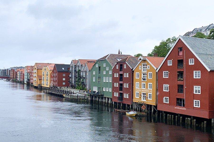 zien en doen in Trondheim - Bakklandet - sommarmorgon.com